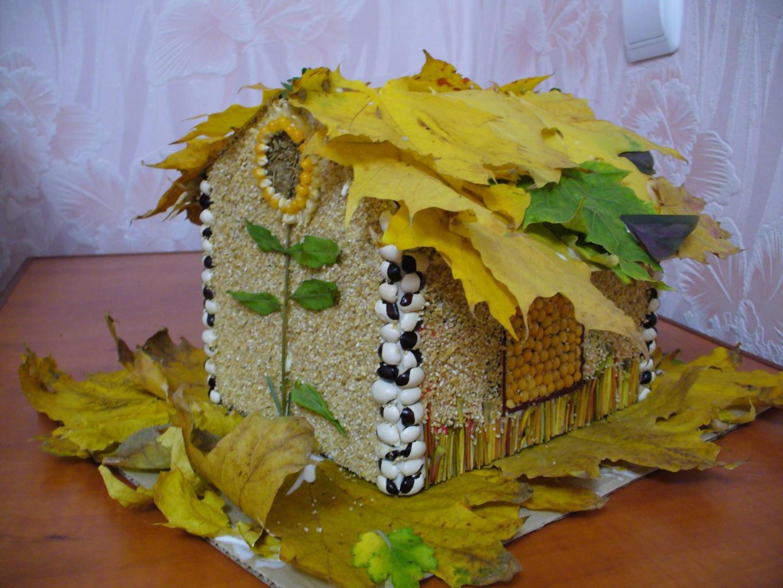 Осенняя поделка фото 1 класс